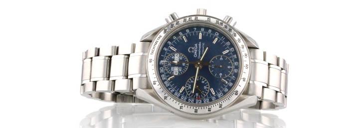 Omega Speedmaster blue dial