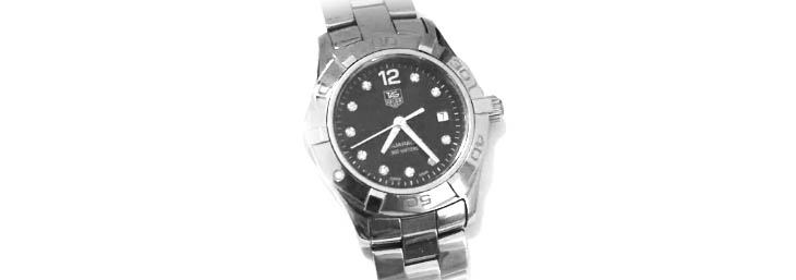 sell TAG Heuer aquaracer with black dial