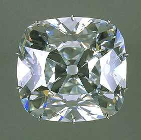 The Regent Diamond 141-carat, worth £48,000,000