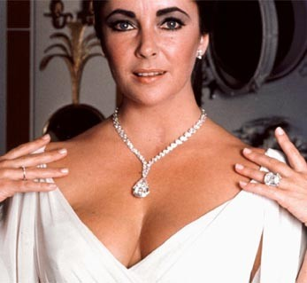 elizabeth taylor and richard burton diamond