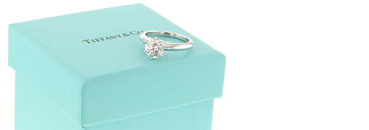 Tiffany and Co Engagement Diamond Ring