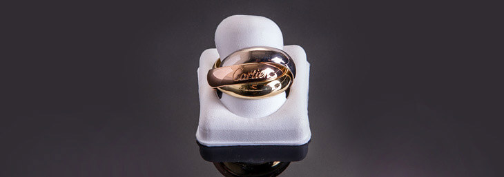 Cartier Gold Ring on Worthy