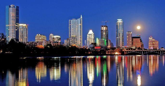 the city of Austin Texas