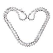 Round Cut Riviera Necklace